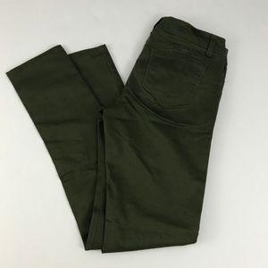 Wax Jean Butt I love You Green Skinny Jeans 5